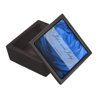 Blue Rose Personal Wedding Gift Box