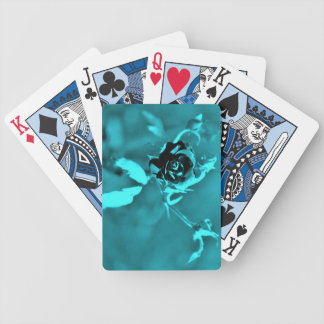 blue rose playing cards