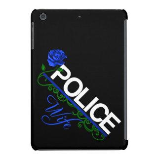 Blue Rose POLICE WIFE iPad Retina Case