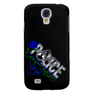 Blue Rose POLICE WIFE  Samsung S4 Case Samsung Galaxy S4 Cover