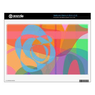 Blue Rose Medium Netbook Skins