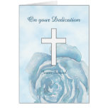 Blue rose sparkle Dedication