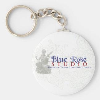 Blue Rose Studio Goods Basic Round Button Keychain