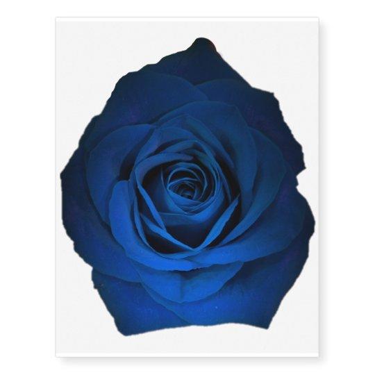 Blue Rose Tattoo | Zazzle.com