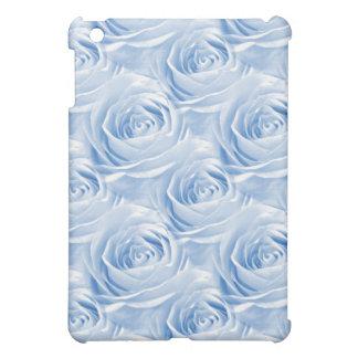 Blue Rose Wallpaper Pattern iPad Mini Covers