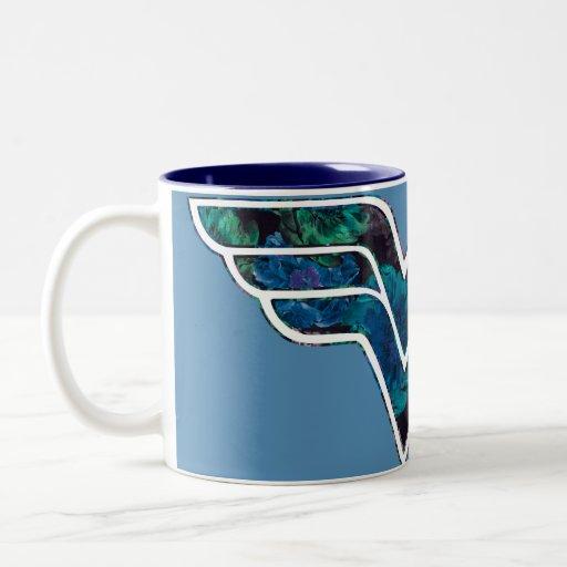 Blue Rose WW Coffee Mug