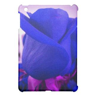 Blue RoseBud iPad case