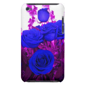 Blue Roses Bouquet iPod Touch case