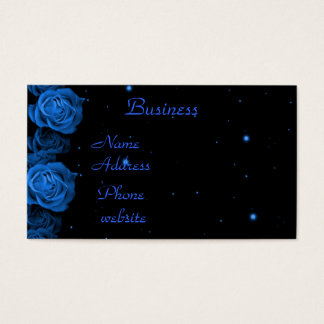 Blue Roses Business Card