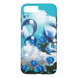 BLUE ROSES HEAVEN'S KISS iPhone 7 PLUS CASE