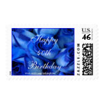 Blue Roses Postage Stamp-customize