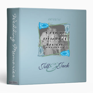 Blue Roses (Wedding Album) Binder