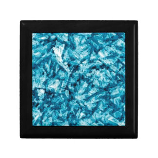 blue rough texture gift box