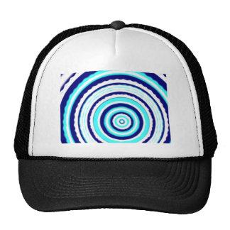 BLUE Round Mesh Hats