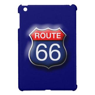 Blue Route 66 iPad Mini Hard Case iPad Mini Case