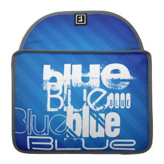 Blue; Royal Blue Stripes Sleeves For MacBooks