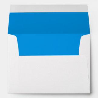 Blue Royal Bright Invitation Envelope