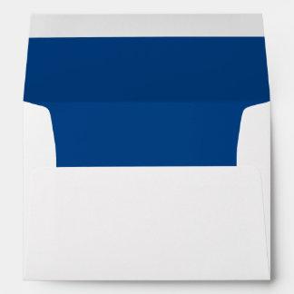 Blue Royal Darkest Invitation Envelope