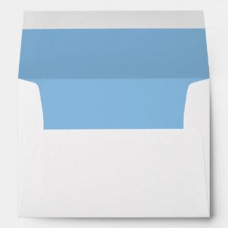 Blue Royal Lite Invitation Envelope