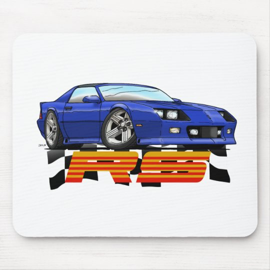 Blue_RS_3G Mouse Pad