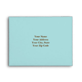 Blue RSVP Envelope