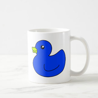 Blue Rubber Duck Mugs
