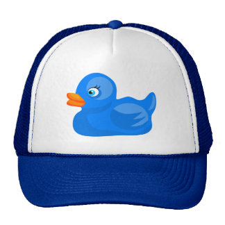 Blue Rubber Duck Trucker Hat