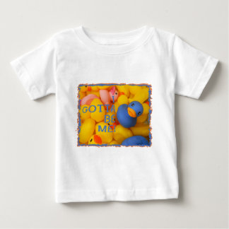 BLUE RUBBER DUCKIE - I GOTTA BE ME! BABY T-Shirt