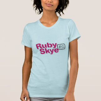Blue Ruby Skye P.I. Ladies T-Shirt