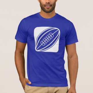 Blue Rugby T-Shirt