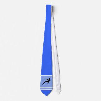 Blue Running Neck Tie