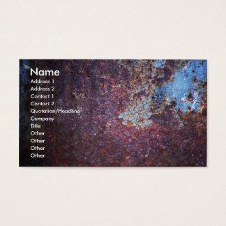 Blue Rust Business Card
