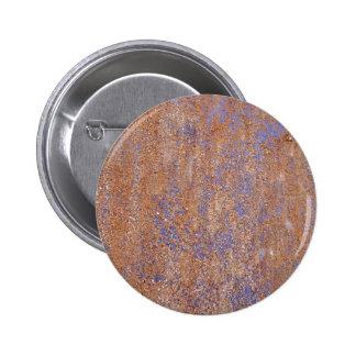 Blue Rust Button