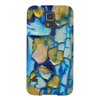 Blue Rust, & Gold Chipping Paint Galaxy Nexus Case