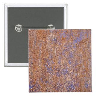 Blue Rust Pinback Buttons
