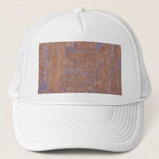 Blue Rust Trucker Hat