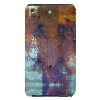 Blue rusty grunge style iPod touch Case-Mate case