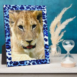 Blue safari Art Plaques