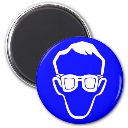 Blue Safety Goggles Magnet