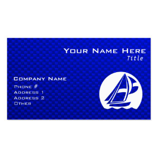 Blue Sailing Business Card