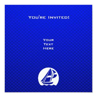 Blue Sailing Card