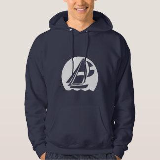 Blue Sailing Hoodie