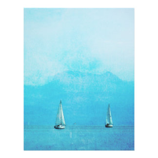 blue sailing letterhead