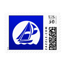 Blue Sailing Postage