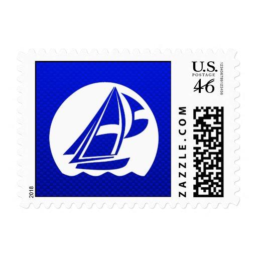 Blue Sailing Postage