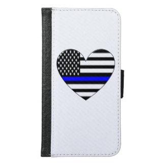 Blue Samsung Galaxy S6 Wallet Case