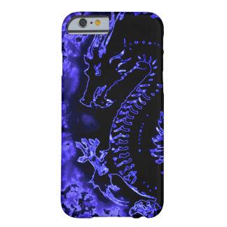 Blue Samurai Spirit Dragon Barely There iPhone 6 Case