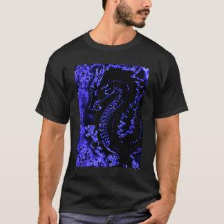Blue Samurai Spirit Dragon Tee