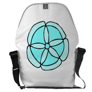 Blue Sand Dollar Courier Bags
