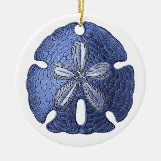 Blue Sand Dollar Ornament